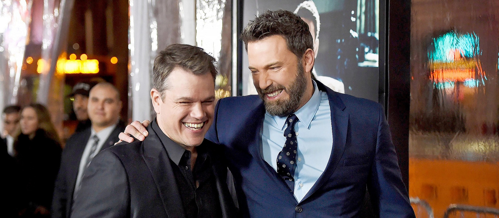"""Das wäre unser erster Kuss auf der Leinwand"": Matt Damon könnte Ben Affleck in ""The Final Duel"" küssen"
