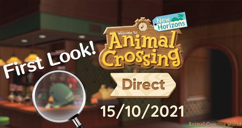 Hier ist unser allererster (unscharfer) Blick auf Brewster In Animal Crossing: New Horizons