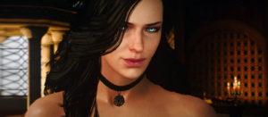 Russische Schönheit zeigte erotisches Cosplay Yennefer aus The Witcher 3 in Dessous (und ohne)