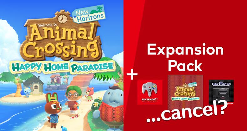 Was passiert, wenn Sie Animal Crossing bekommen: Happy Home Paradise mit Online-Schalter und späterer Stornierung