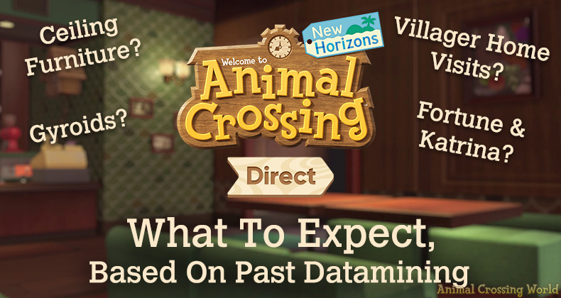 What To Expect In Tomorrow's Animal Crossing Direct, Based On Past Datamining